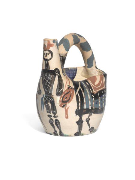 Pablo Picasso-Cavalier Et Cheval (A. R. 137)-1952
