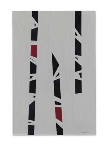 Paul Van Hoeydonck-Panneau Peint (Painted Panel)-1958