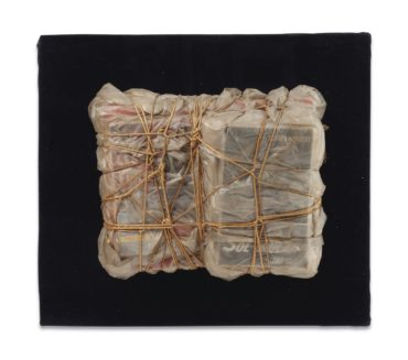 Christo and Jeanne-Claude-Wrapped Books-1962