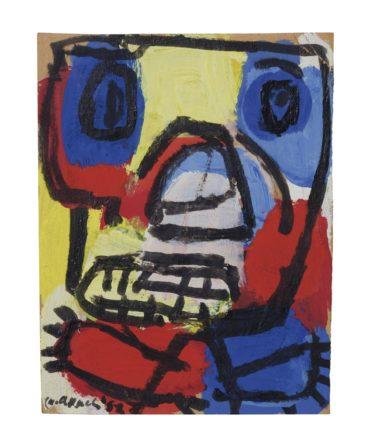 Karel Appel-Untitled-1952