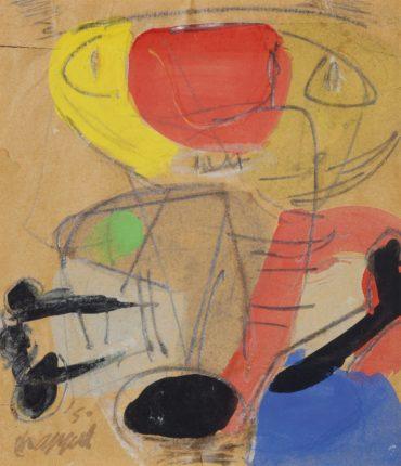 Karel Appel-Untitled-1950