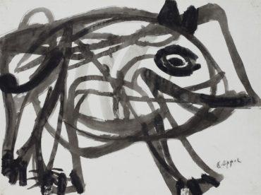 Karel Appel-Untitled-1953