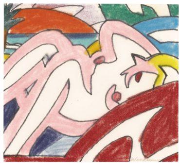 Tom Wesselmann-Study For Sunset Nude (1960 Judy)-2002