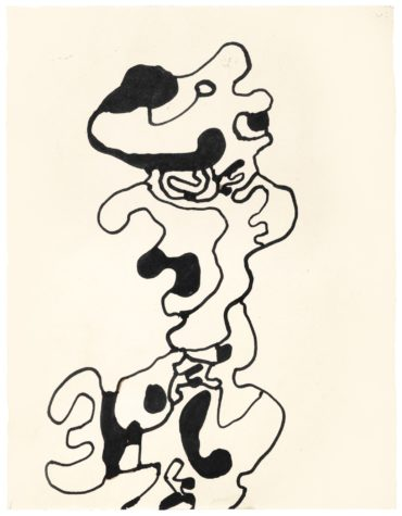 Jean Dubuffet-Personnage-1967