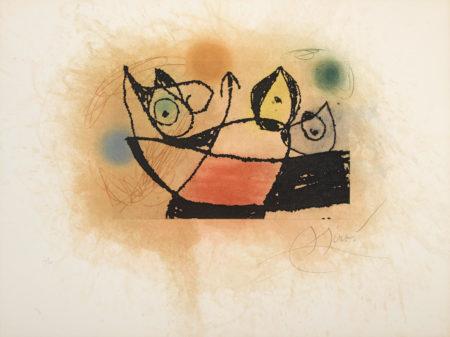 Joan Miro-Le Mulot (D. 1019)-1978