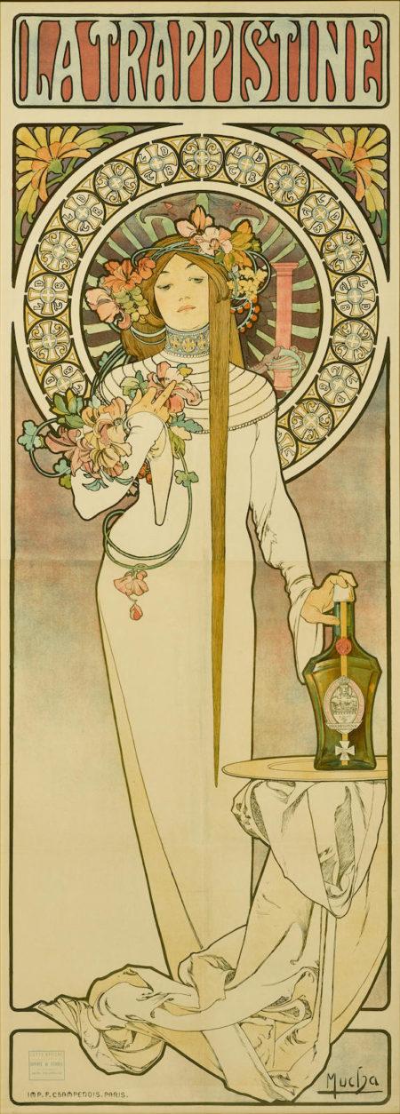 Alphonse Mucha-La Trappistinela Trappistine (R./W. 30)-1897