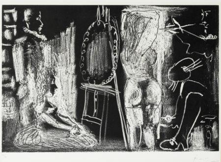 Pablo Picasso-Dans Latelier (B. 1399; Ba. 1472)-1966