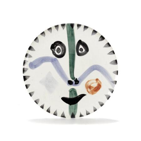 Pablo Picasso-Face No. 111 (A.R. 476)-1963