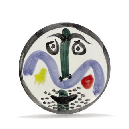 Pablo Picasso-Face No. 130 (A.R. 479)-1963