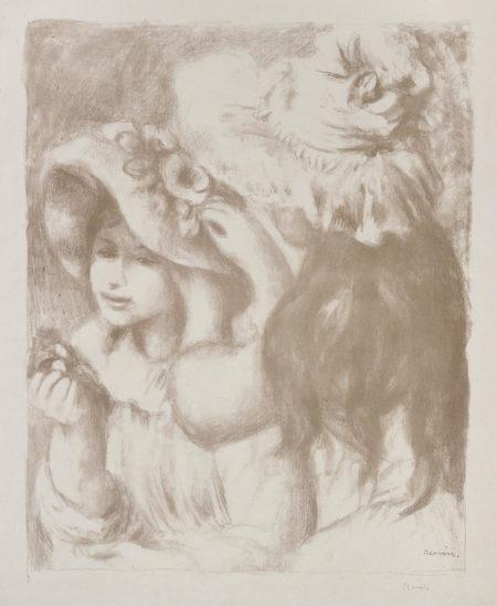 Pierre-Auguste Renoir-Le Chapeau Epingle, 2E Planchele Chapeau Epingle, 2E Planche (D.; S. 30)-1898