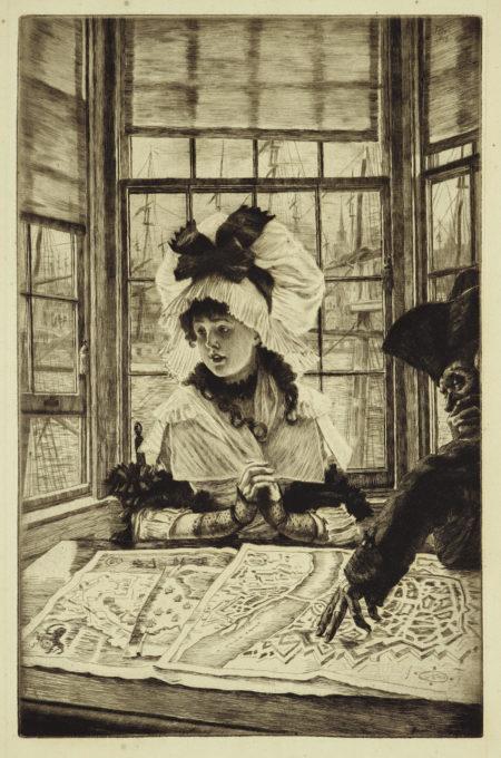 James Jacques Joseph Tissot-Histoire Ennuyeuse (W. 32)-1878