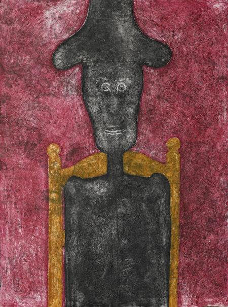 Rufino Tamayo-Hombre En Negro (P. 219)-1976