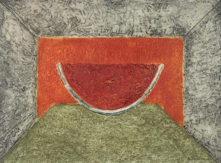 Rufino Tamayo-Interior Con Sandia (P. 180)-1975