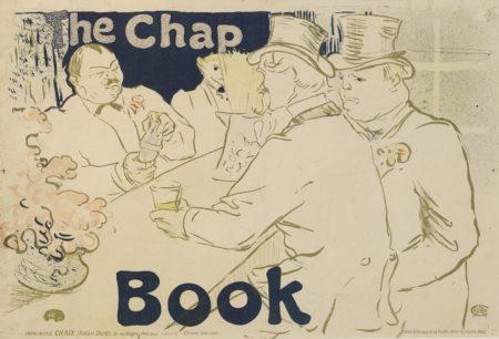 Henri de Toulouse-Lautrec-Irish And American Bar, Rue Royale-The Chap Book (W. P18; D. 362; Adr. 139)-1895