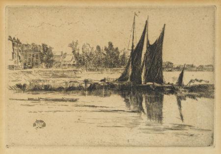 James Abbott McNeill Whistler-Hurlingham (K. 181)-1879