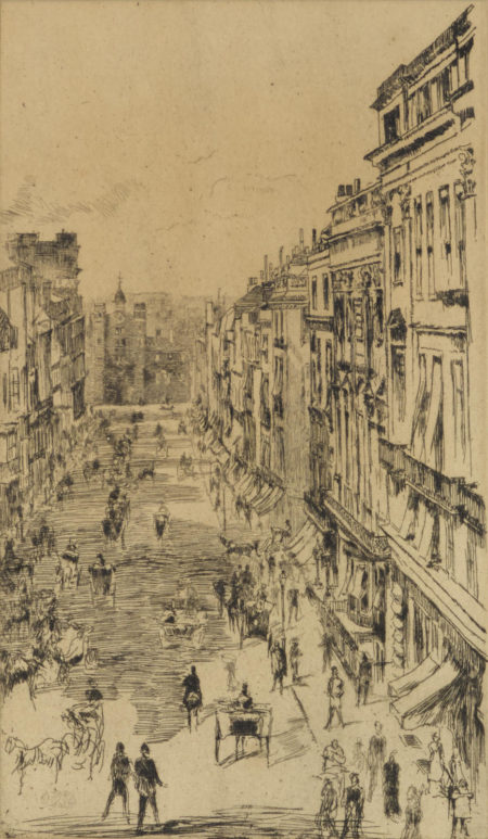 James Abbott McNeill Whistler-St. Jamess Street (K. 169)-1878