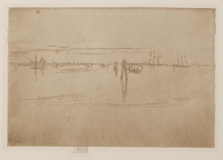 James Abbott McNeill Whistler-Long Lagoon (K. 203)-1880