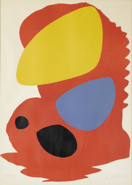 Alexander Calder-Untitled (Lacma Exhibition Poster)-1965