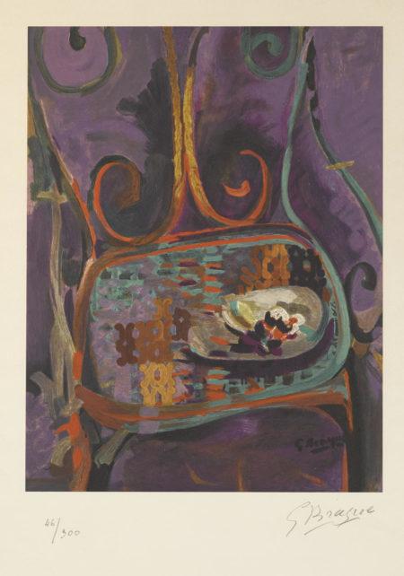 After Georges Braque - La Chaise-1960