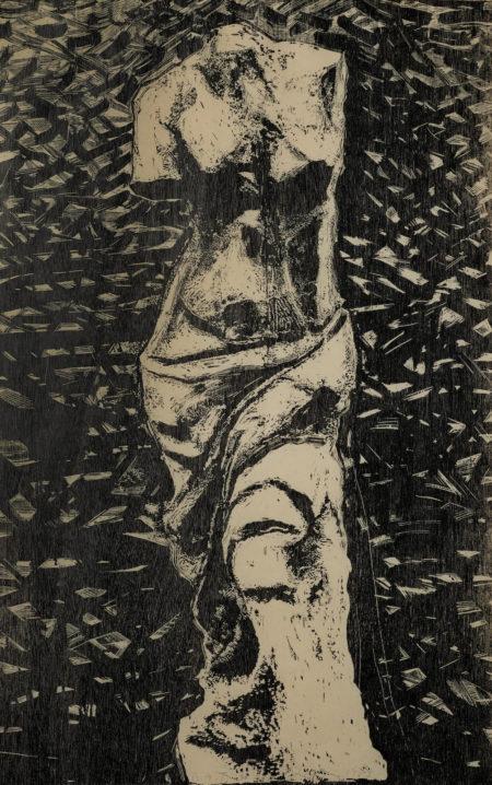 Jim Dine-Black Venus In The Wood (Do. & F. 160)-1983