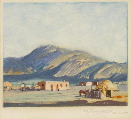 Oscar Edmund Berninghaus - Taos, New Mexico-