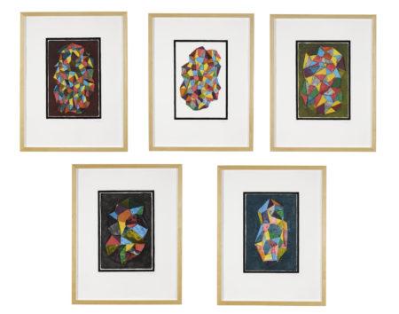 Sol LeWitt-Complex Forms Series (K. 1989.09)-1989