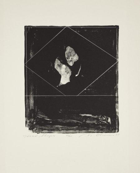 Nathan Oliveira-Twelve Intimate Fantasies (G. 91; S. 87, 89-101, 102)-1964