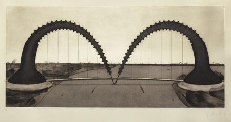 Claes Oldenburg-Screwarch Bridge (State II) (A./P. 173)-1980