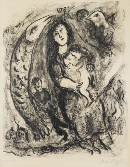 Marc Chagall-War I (M. 156)-1957