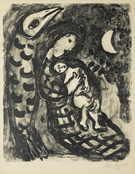 Marc Chagall-War II (M. 157)-1957