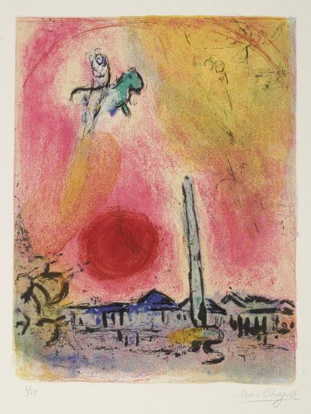 Marc Chagall-Regards Sur Paris (M. 353)-1960