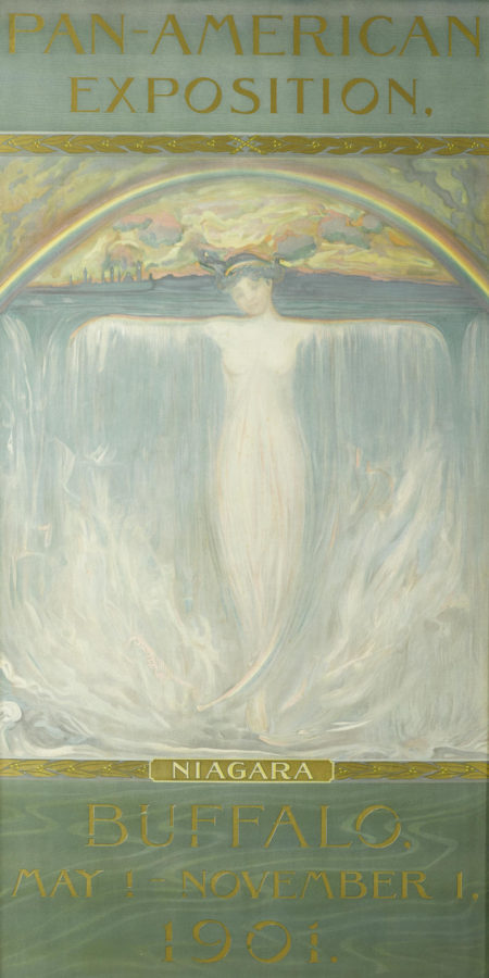 Evelyn Rumsey Cary - Pan-American Exposition, Niagara, Buffalo, May 1 - November 1, 1901-1901