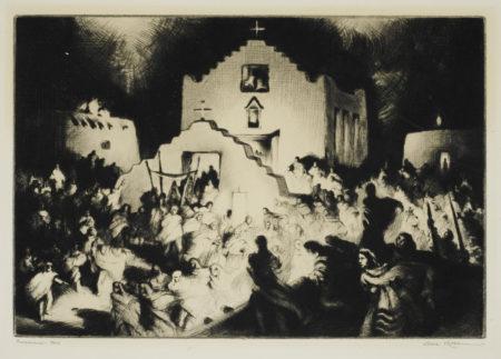 Gene Kloss-Processional - Taos (K. 431)-1948