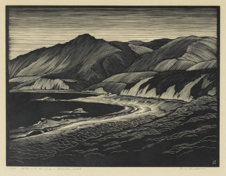 Hills And The Sea - Malibu Coast-1930