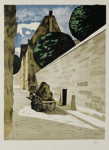 Man Ray-Rue Ferrou (A. II.111)-1974