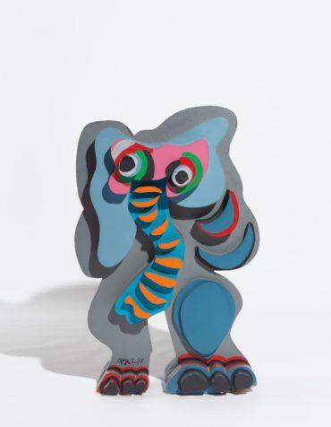 Karel Appel-Standing Elephant-1978