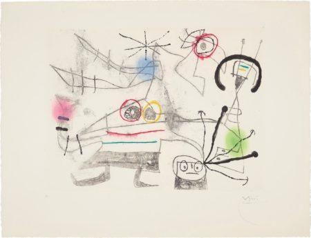 Joan Miro-Femme-Oiseau II (Bird-Woman II)-1960
