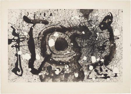 Joan Miro-Les Geants (The Giants): Plate 4-1960