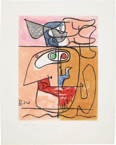 Le Corbusier-Unite: Plate 2-1963
