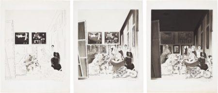 Richard Hamilton-Picassos Meninas: Three Impressions-1973