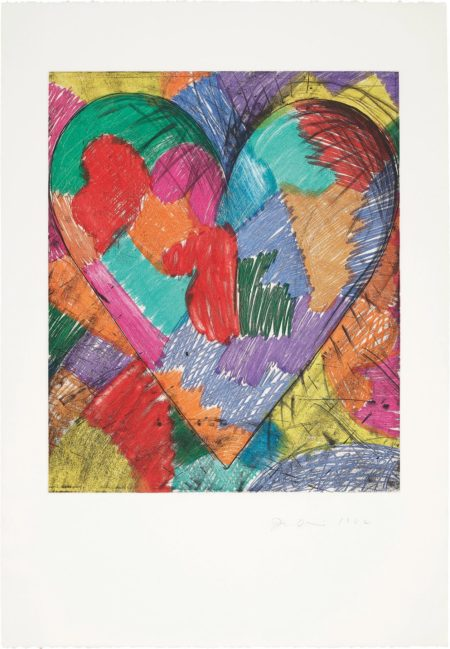 Jim Dine-The Heart Called Paris Spring-1982