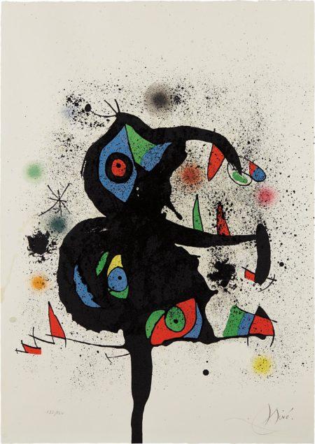 Joan Miro-Sculptures En Montagne-1972