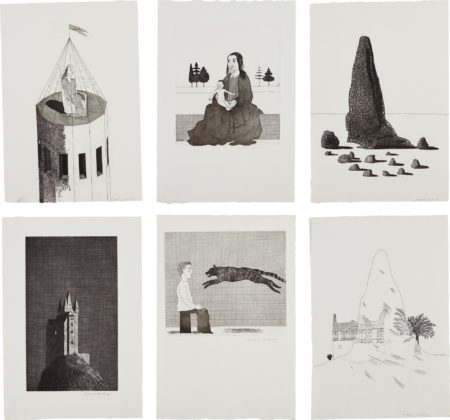 David Hockney-Illustrations For Six Fairytales From The Brothers Grimm-1969