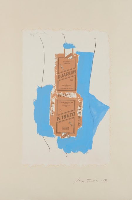 Robert Motherwell-Djarum-1975