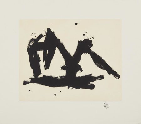 Robert Motherwell-Stephens Iron Crown Etched-1982