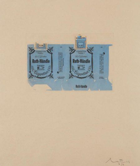 Robert Motherwell-Roth-Handle II (Blue)-1975