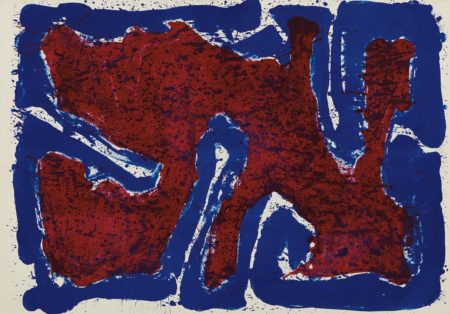 Sam Francis-Serpent On The Stone-1960