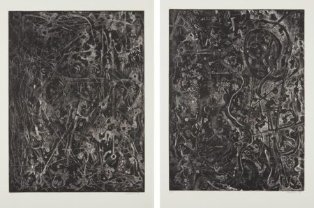 Alfonso Ossorio-Untitled Iii; And Untitled VII-1984
