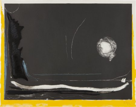 Helen Frankenthaler-Yellow Jack-1987