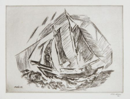 John Marin-Sailboat-1932